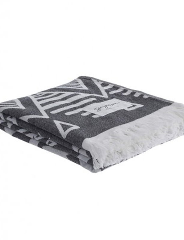Bolanos black - Beach towel
