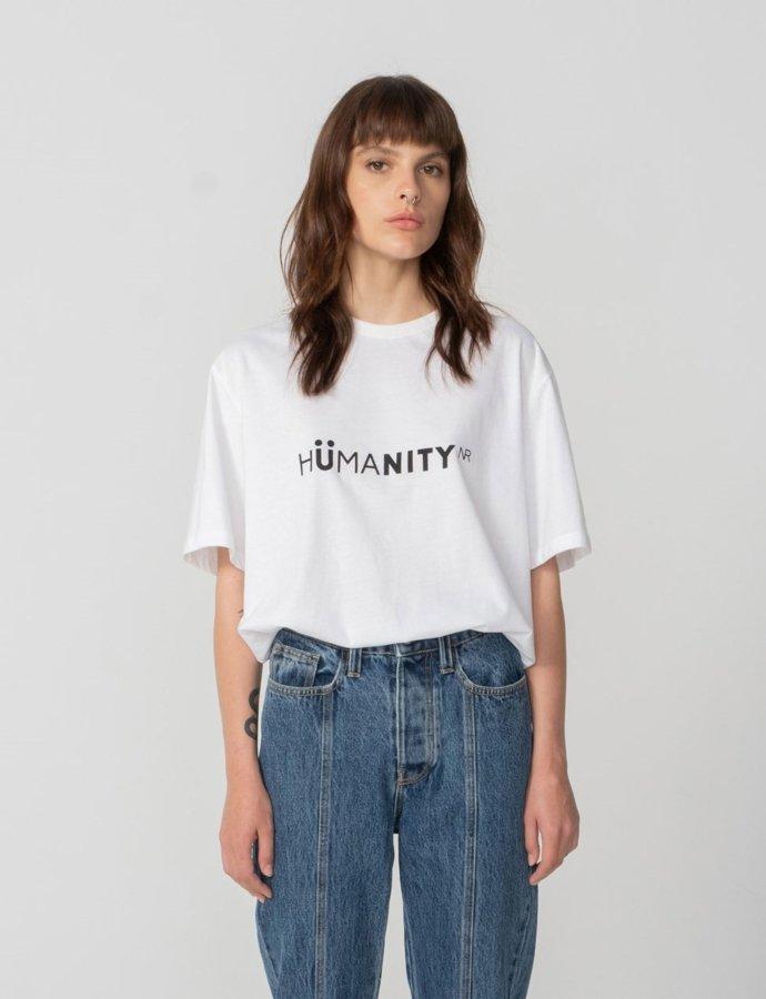 Humanity t-shirt white
