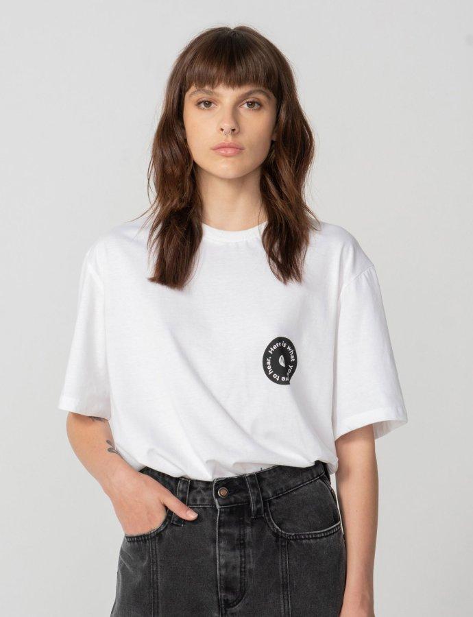 Hear your heart t-shirt white