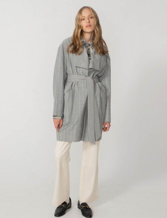 Liberty trench coat midi