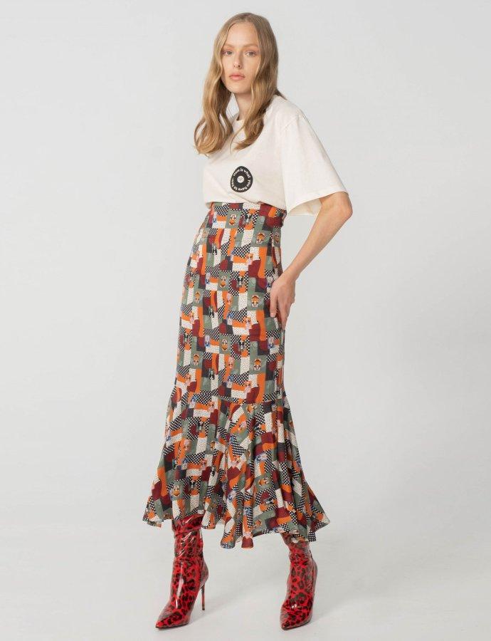 Euphoria skirt khaki