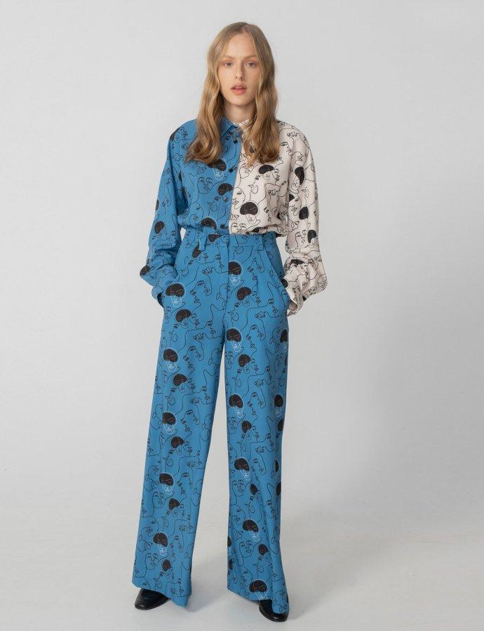 Unity pants blue