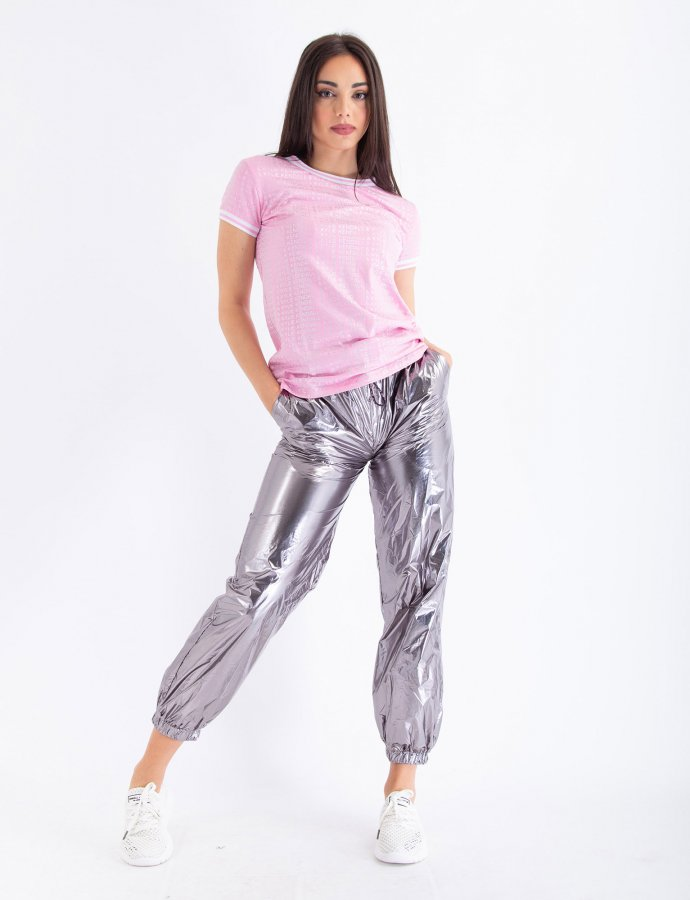 Silver pants