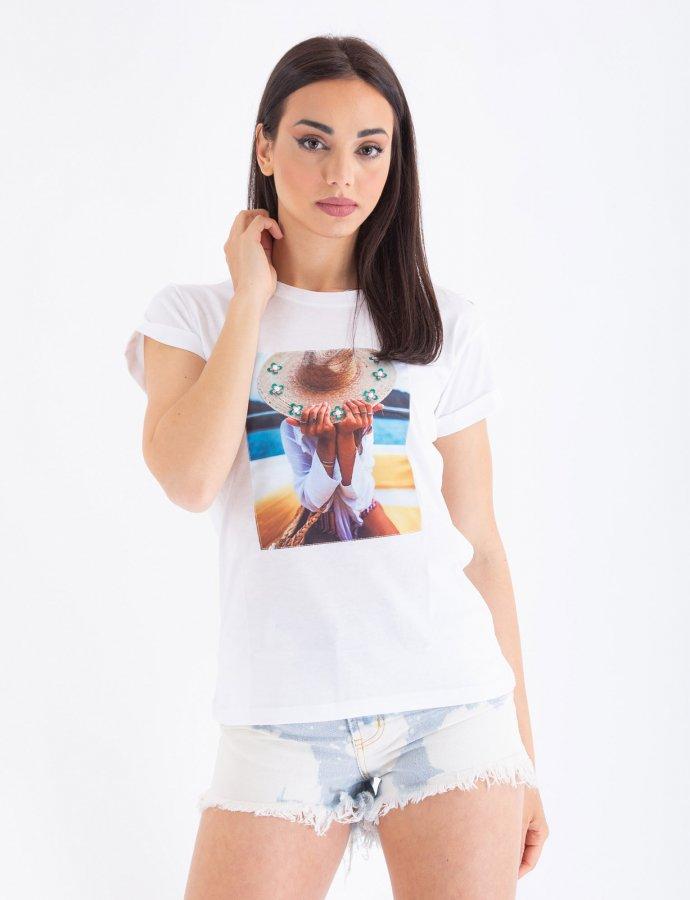 Sun hat t-shirt