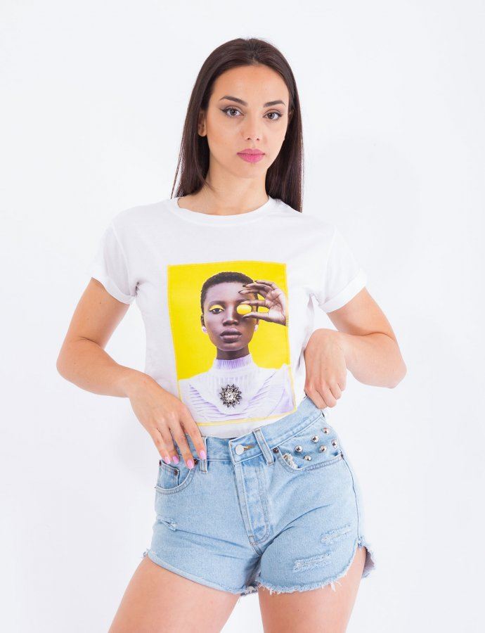 Yellow grape t-shirt