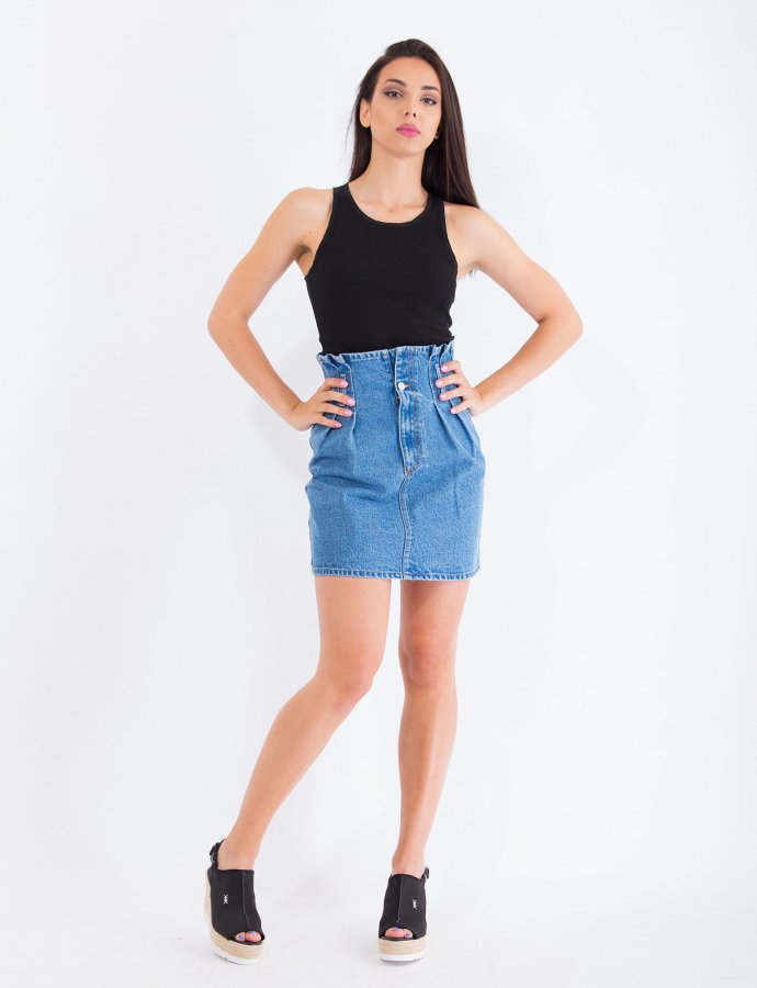 Ariana medium denim skirt