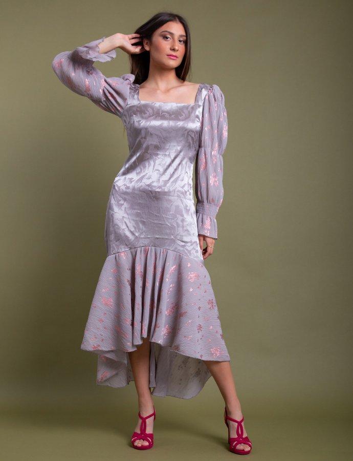 Virginis dress light grey
