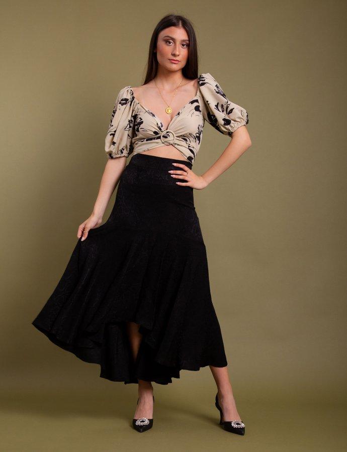 Caile skirt black