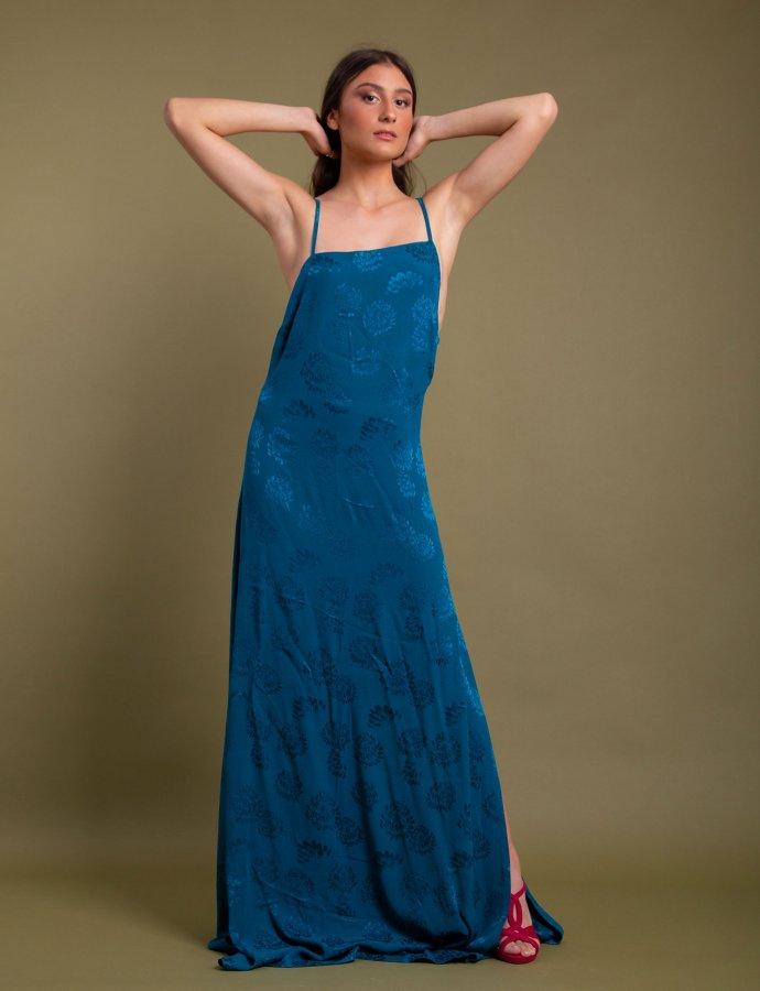 Camino dress blue