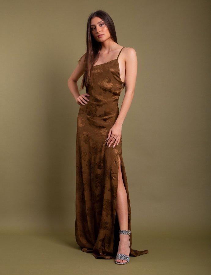 Camino dress brown