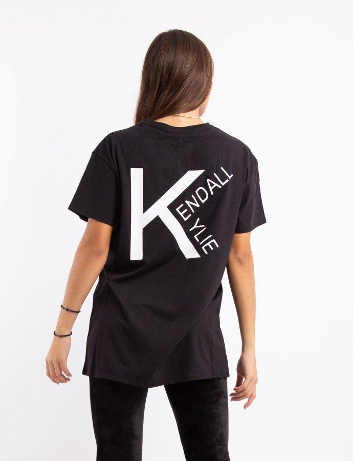 Active logo V4 longfit t-shirt black