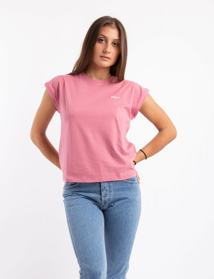 Bloom t-shirt washed berry