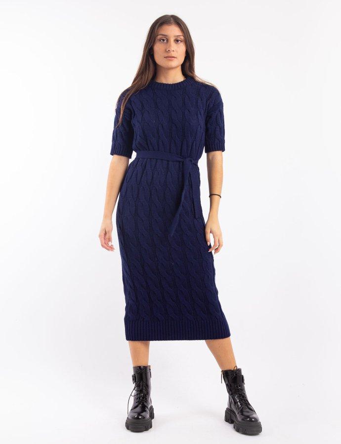 W-202 Blue long dress