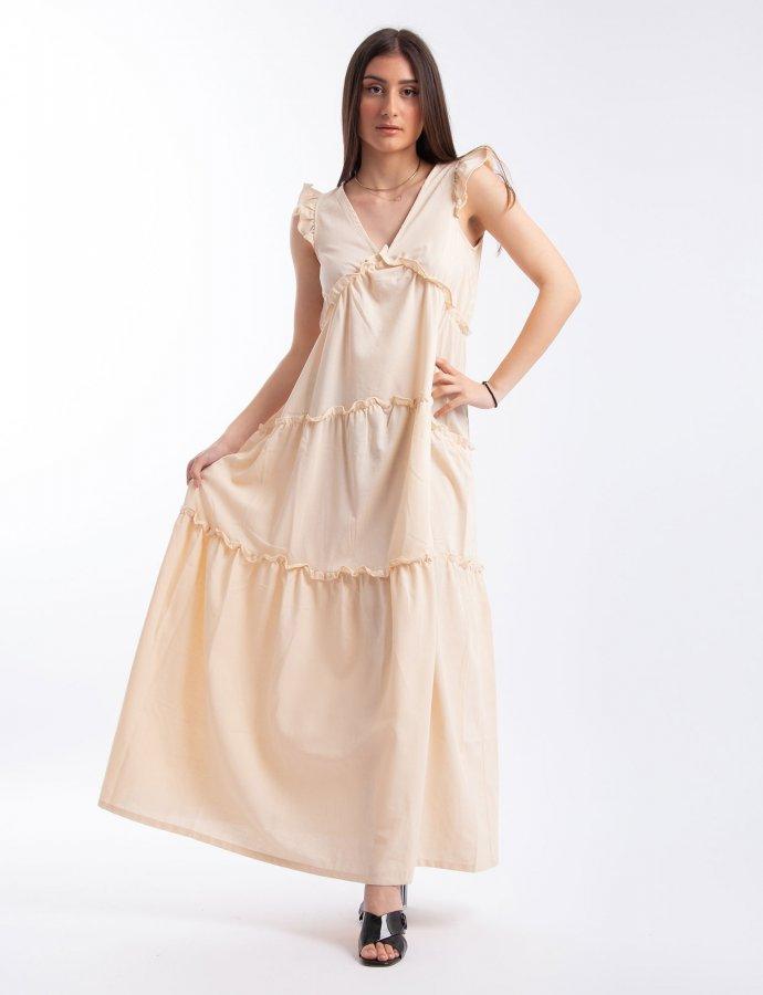 Ruffle tiered dress