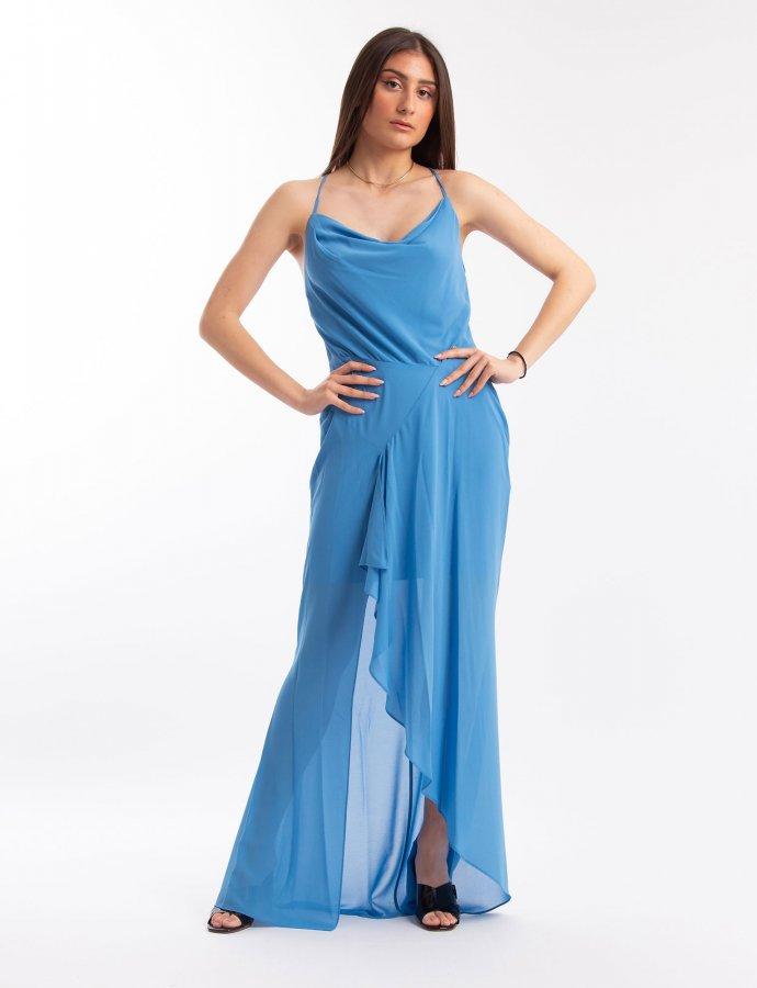 Azure malibu maxi dress