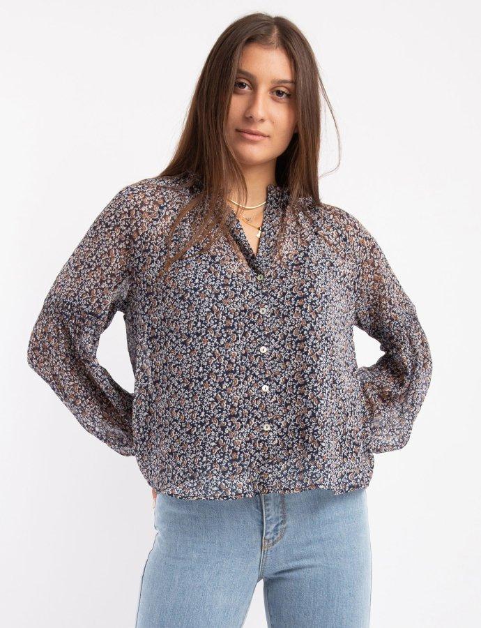 Dafne paisley shirt