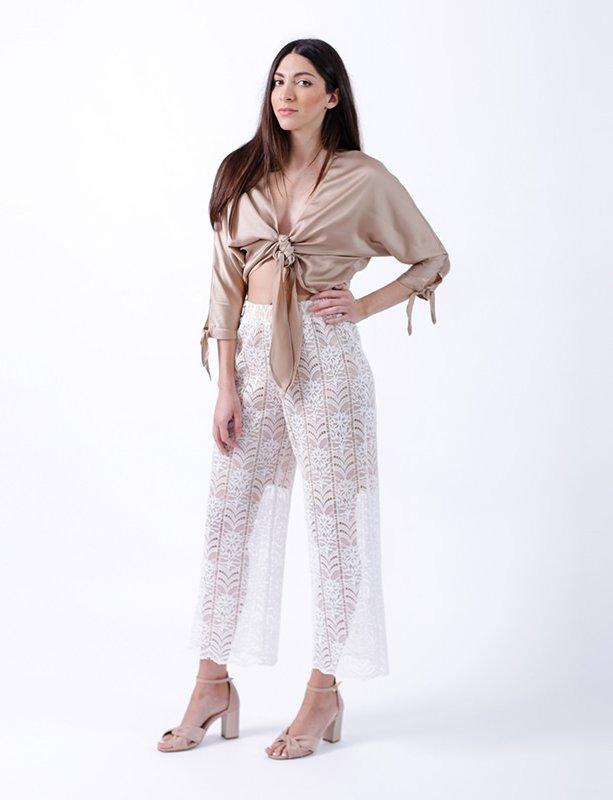 Memoir lace pants
