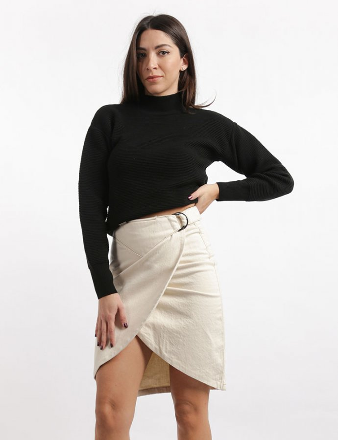 Rebecca cream skirt