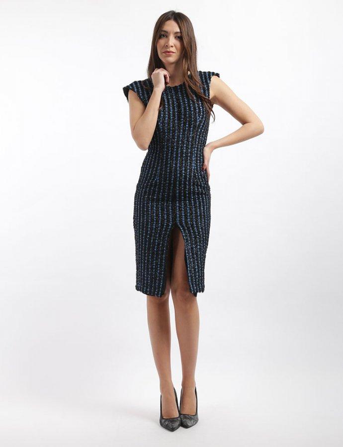 Gazella blue black dress