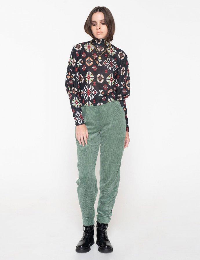 Beatles cord pants green