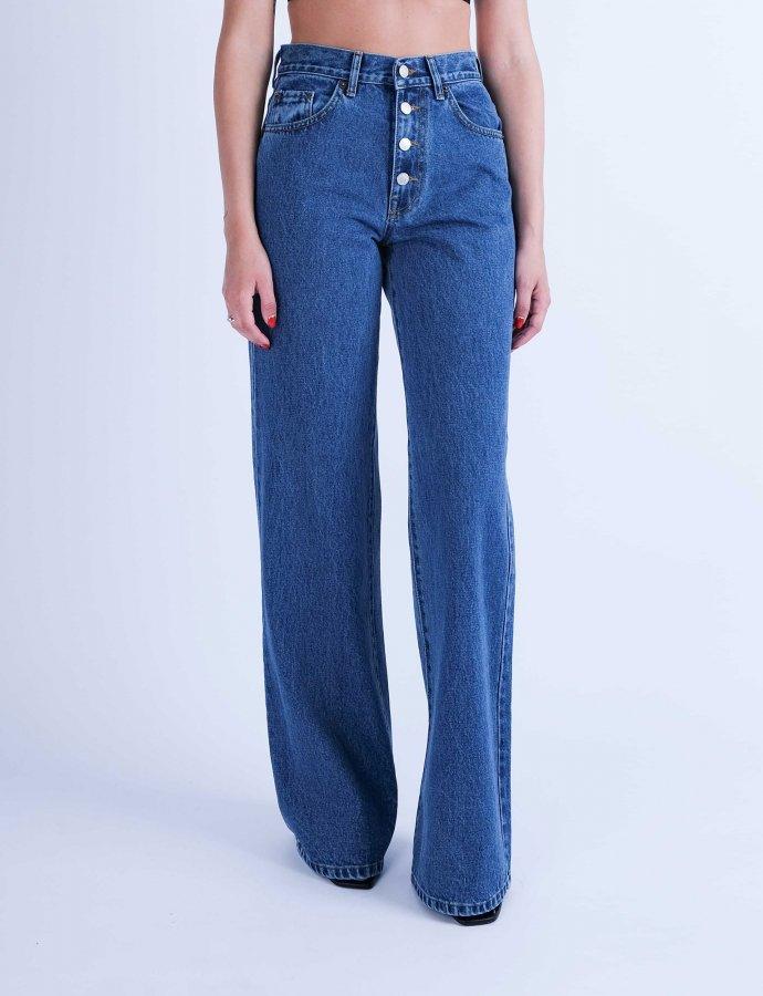 Marissa S/W Buttons denim pants