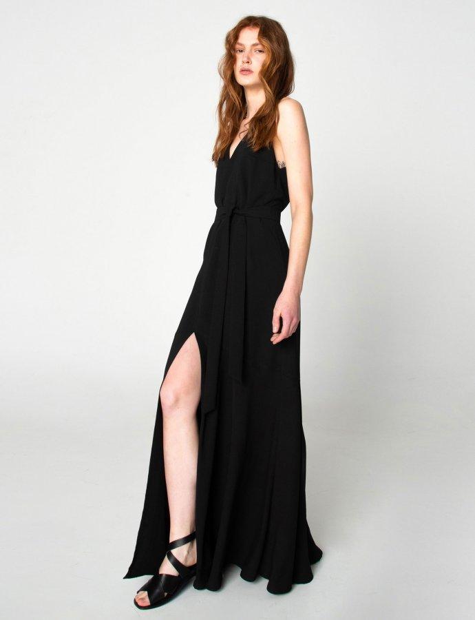 Shades of Sahara black dress