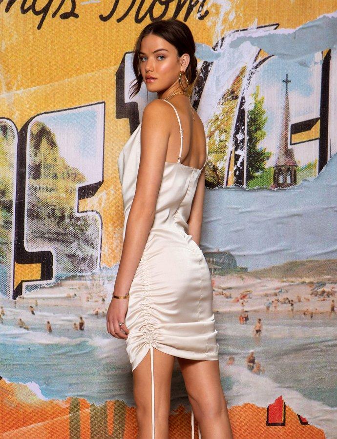 Spirit dress beige