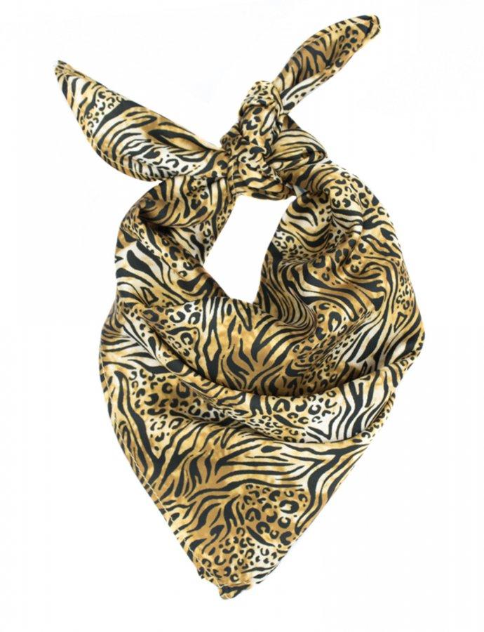 The getaway scarf animal print