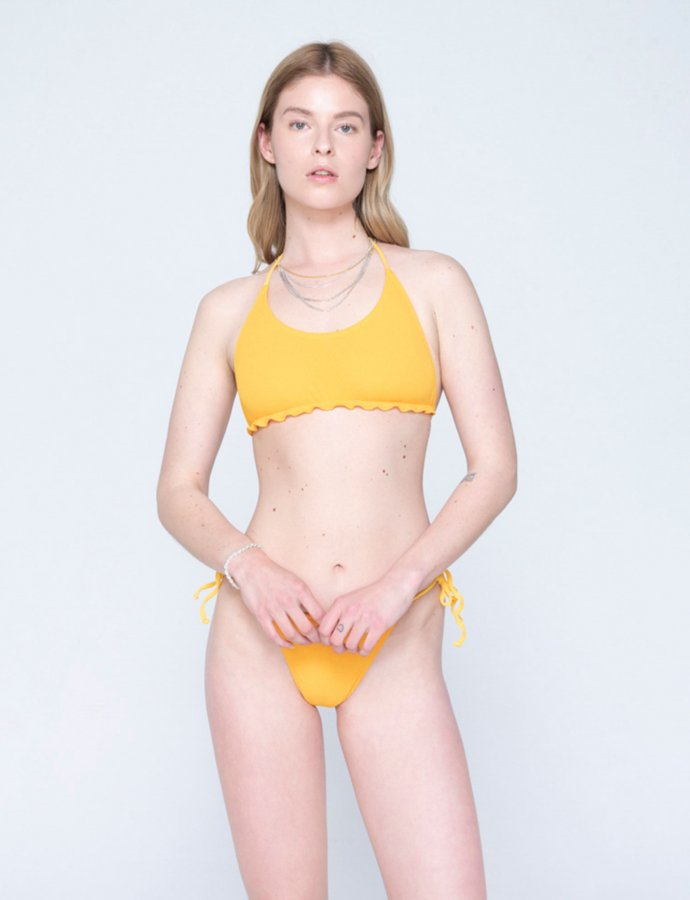 Sicily bikini orange