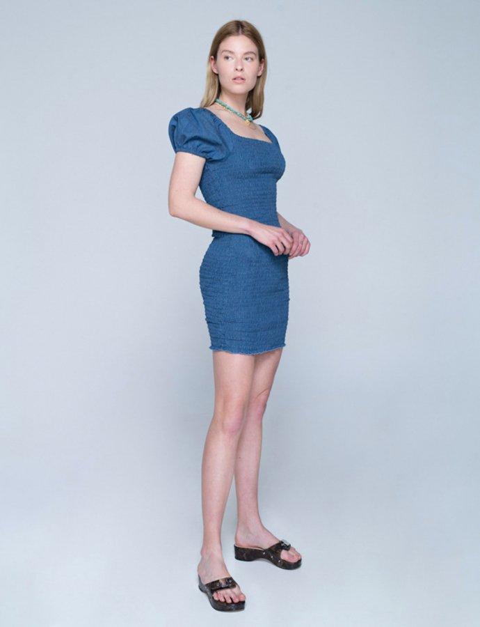 Amalfi dress blue