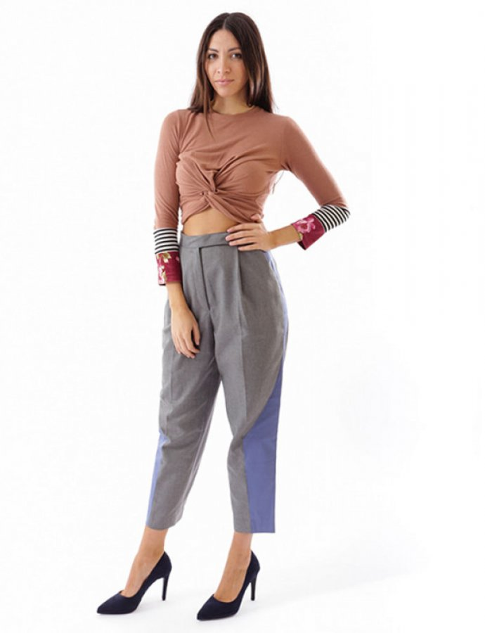 Nadia Rapti X Salt&Pepper pants